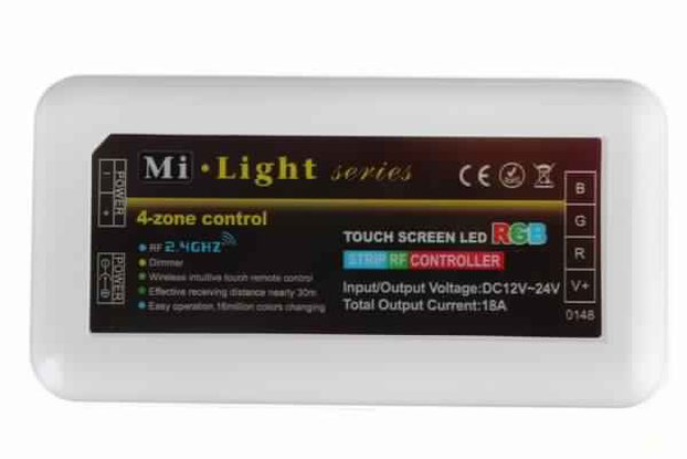 Mi Light 24A DC12-24V 2.4G RF 4 Channel RGB LED Re