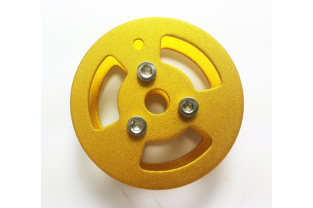 Metal Bearing Wheel for Robot Tank Car Chassis 3