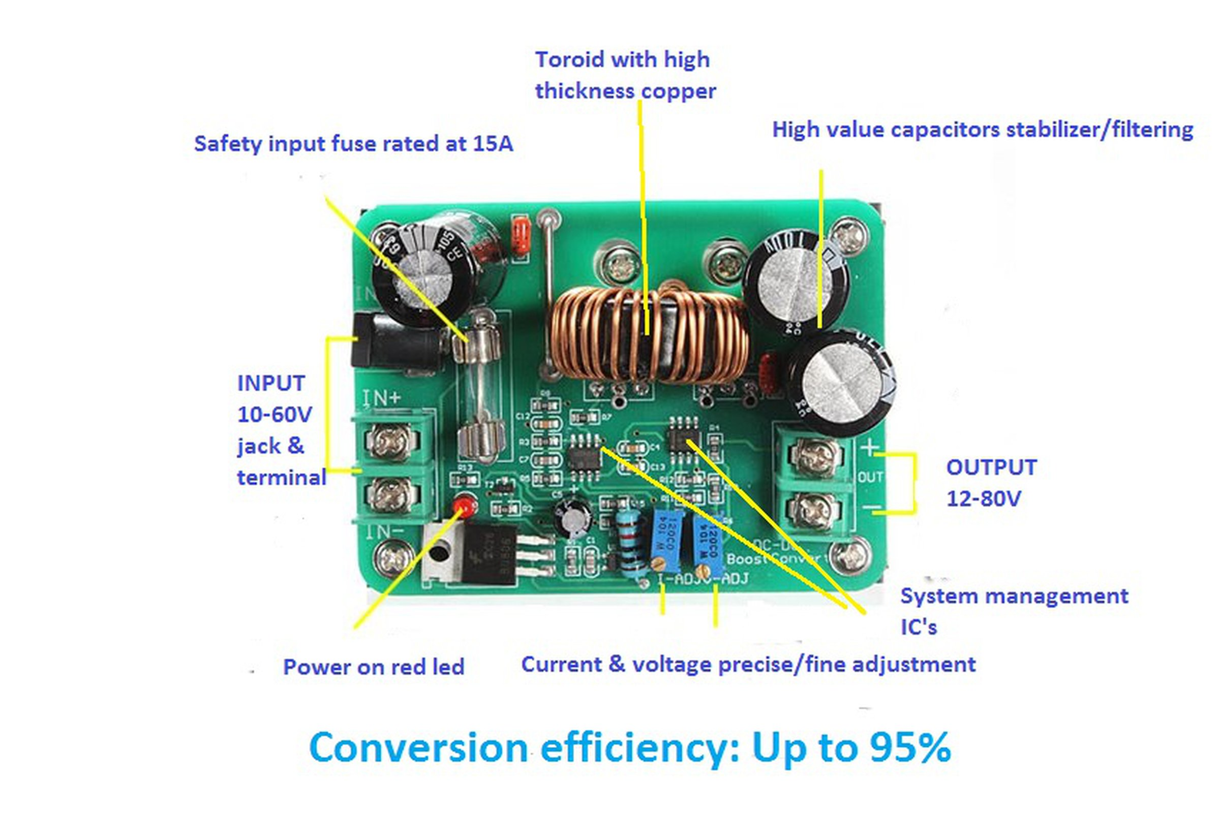Power Supply 10 60v To 12 80v Or Led Driver From Vitor Market Picture Of High Circuits 6