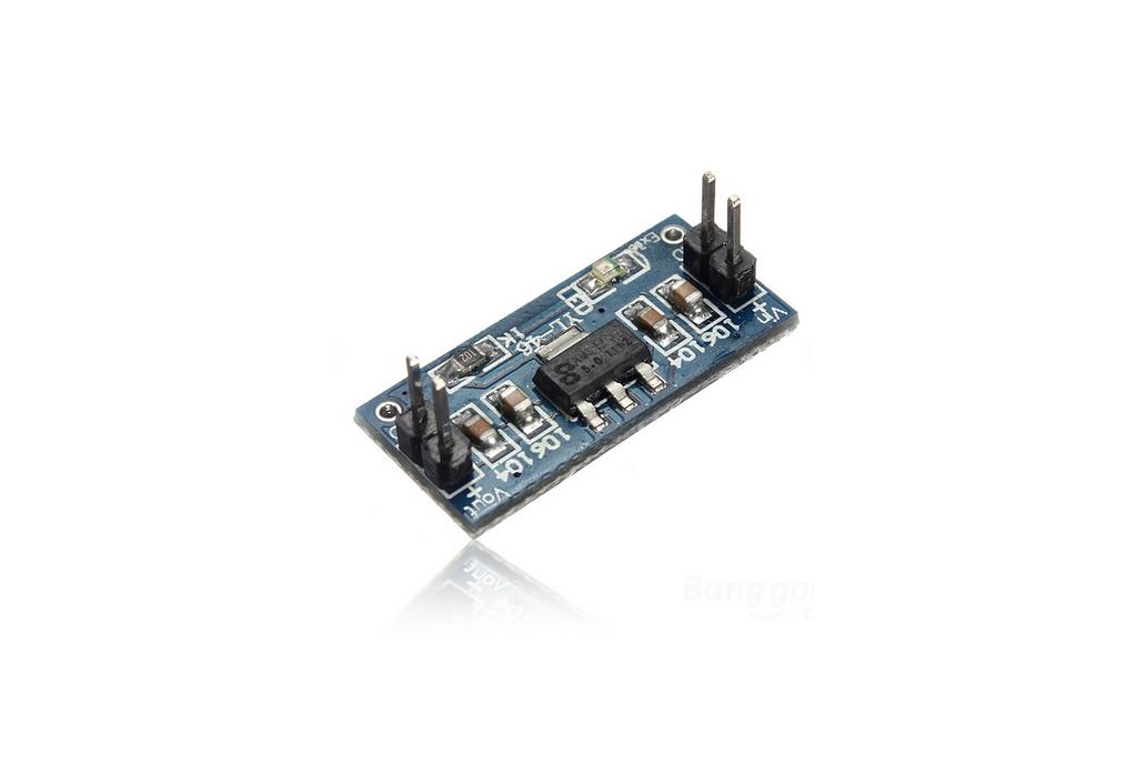 2PCS AMS1117-5.0V Power Supply Module AMS1117-5.0 6.0V-12V to 5V