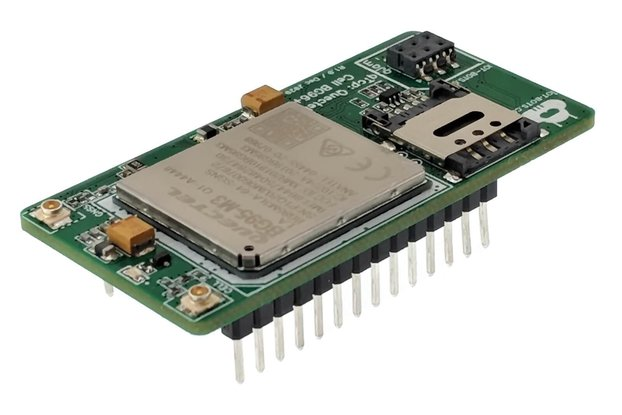 Arduino MKR Compatible LTE/GNSS BG95 Shield