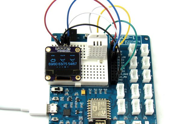 EasyESP-1: A rapid development board for ESP8266