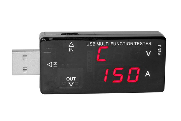 Usb Current Voltmeter Detector