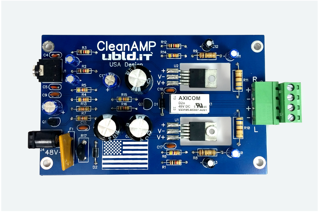 CleanAmp 2 Stereo Amplifier Kit 1