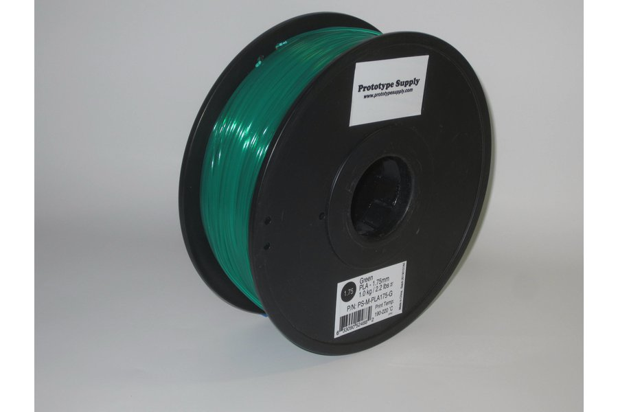 PLA 3D Filament (3.00 mm, 1 kg), 12+ colors!