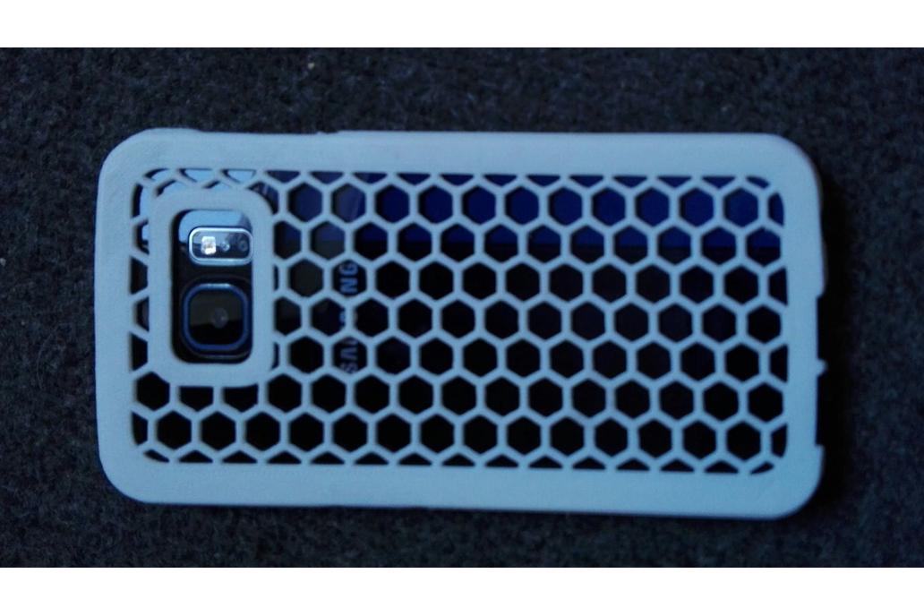 Samsung Galaxy S6 Hexagon Phone Case 1