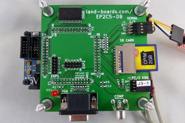 Z80, 6502, 6809, FPGA Multicomp PCB (EP2)