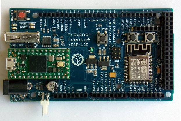 Arduino-Teensy4 - Teensy 4.0 Expansion Board