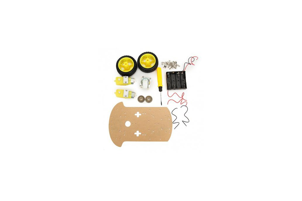 Robotics Car Kit for Arduino 1