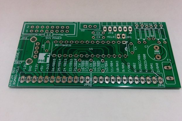 PIC24 Development Board for Eurorack (PCB only)