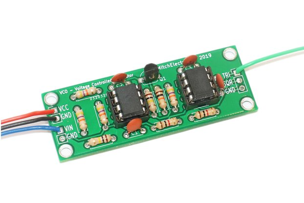 Voltage Controlled Oscillator - Electronic Kit