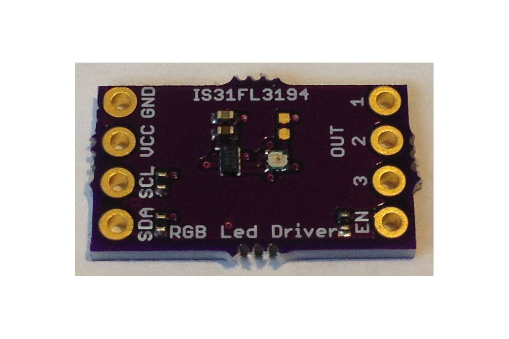 IS31FL3194 Programmable 3-Channel LED Driver 1