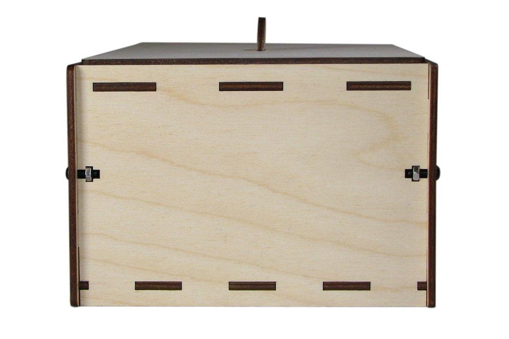 """PCB UV Exposure Box, 6"""" x 4"""" 4"""