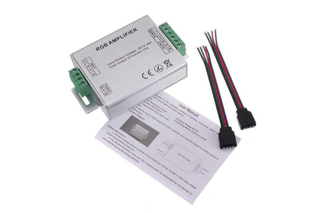 RGB SMD 5050 LED Strips Light Signal Amplifier 12V 1