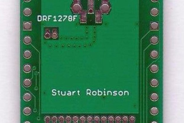 Breadboard Friendly Board for DRF1278 LoRa® module