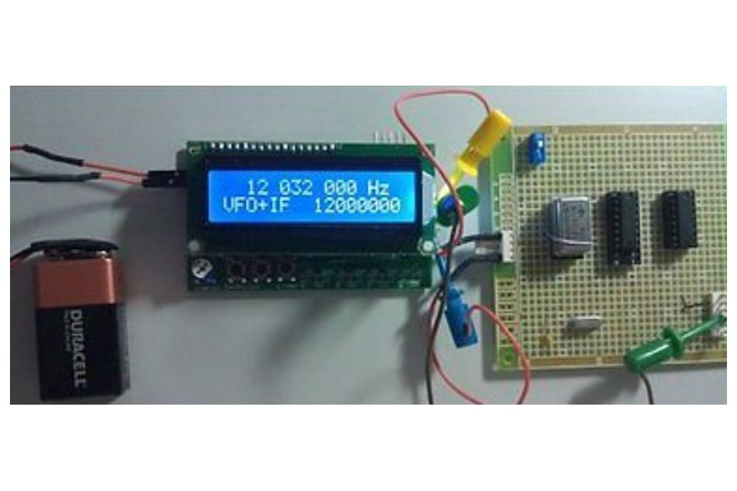 50MHz LCD Frequency Counter Module with IF Offset  2