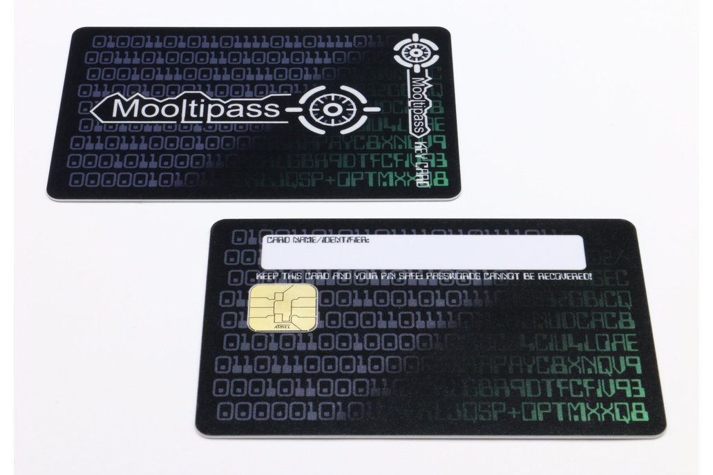 Mooltipass Cards & Holders 1