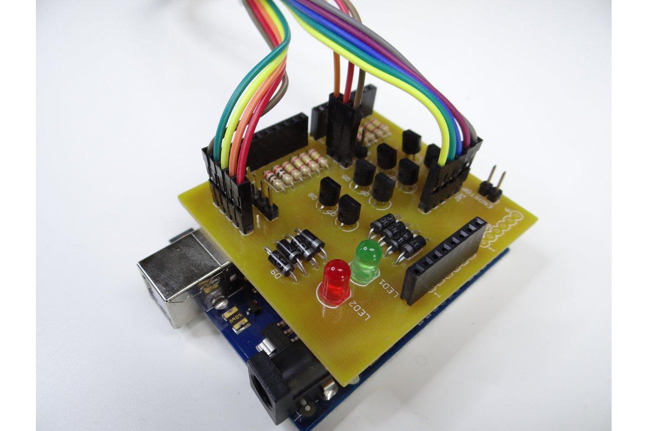 Dotter PCB for Arduino Based Dot Matrix Printer
