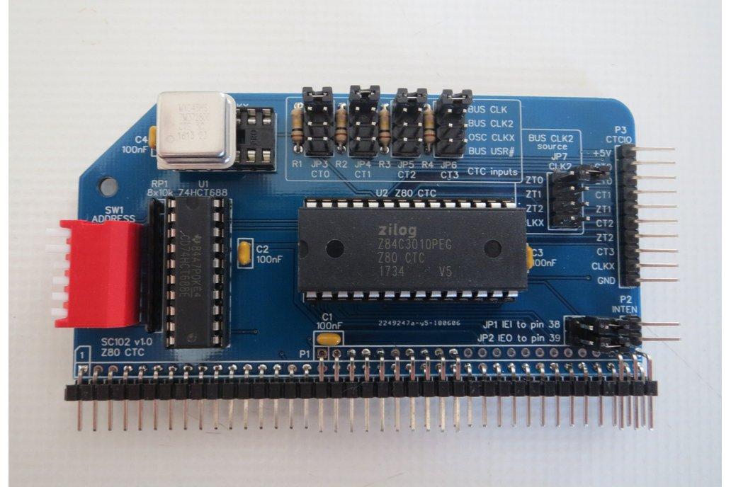 SC102 Z80 CTC Module Kit for RC2014 1