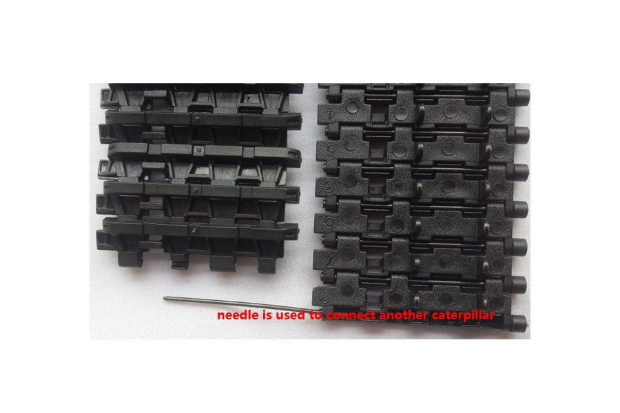 2pcs Track Wheel for Tank Chassis 1:16 3818