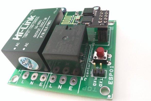 esp8266-01 wifi relay module