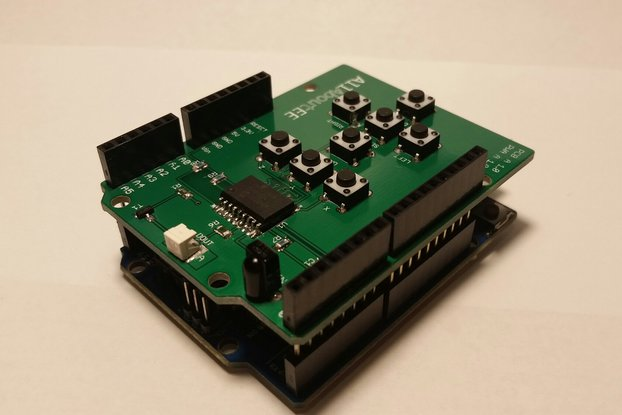 Infrared Remote Control Shield for Arduino