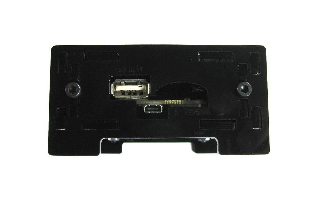 BeagleBone Black Enclosure - Black Acrylic 3