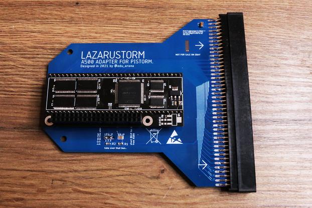 External PiSTORM for Amiga 500