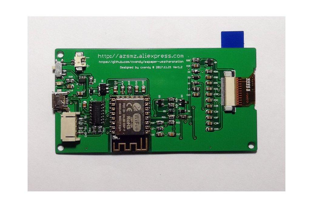 "AZSMZ EPaper 2.9"" with USB-to-Serial 2"