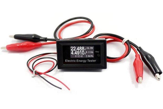 100V 15A Digital DC Voltmeterr Current Voltage