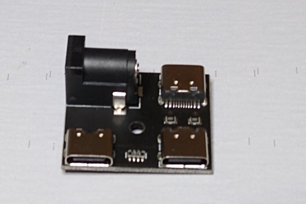 USB-C/PWR Splitter