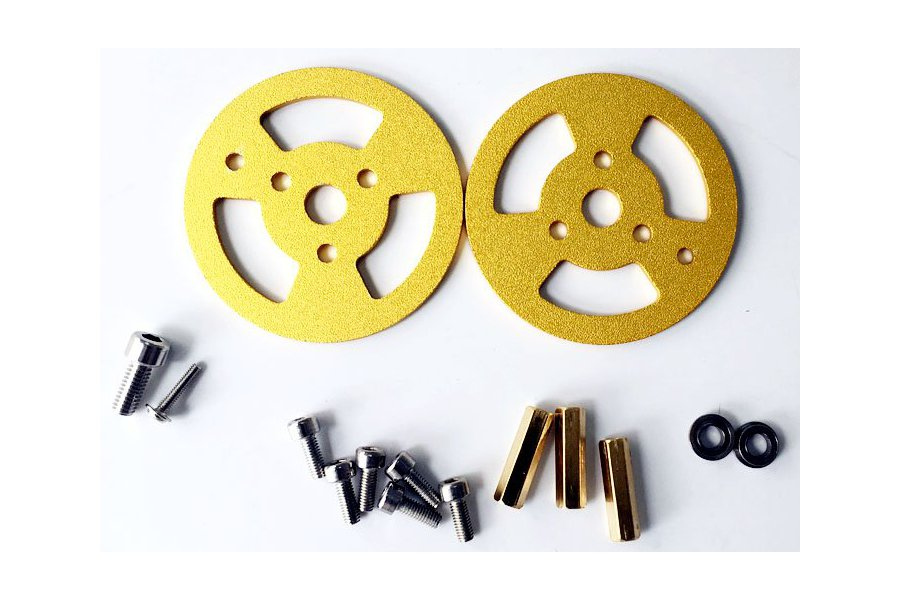 Metal Bearing Wheel for Robot Tank Car Chassis