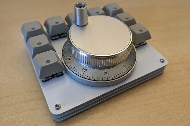 Wireless Video Editing Macropad and Jog Wheel