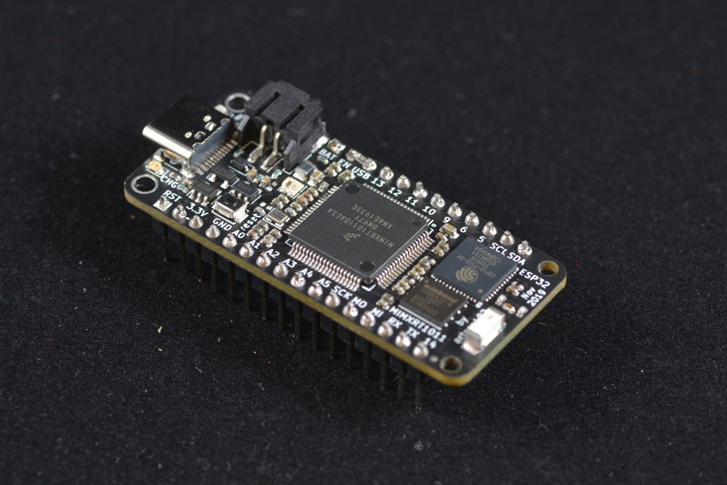 NXP MIMXRT1011 Feather with ESP32 1