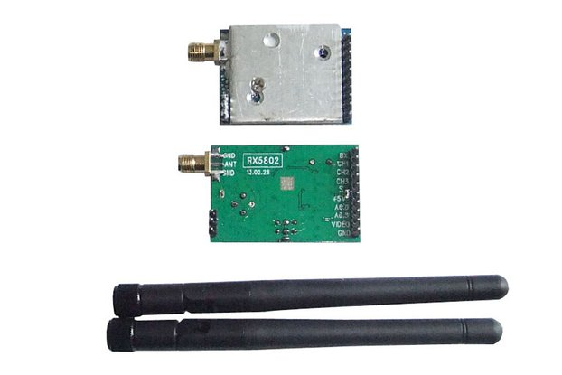 Wireless audio video transmitter receiver kit