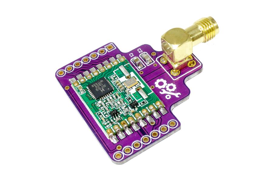 RFM69HW Wireless RF Breakout Board - 1km+ Range