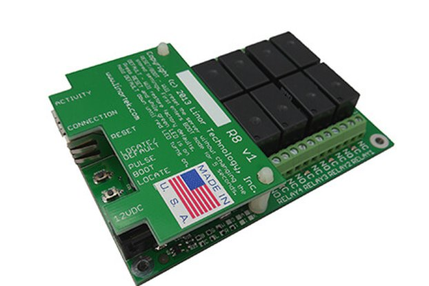 Fargo G2R8 Web-based TCP/IP Ethernet Relay Board