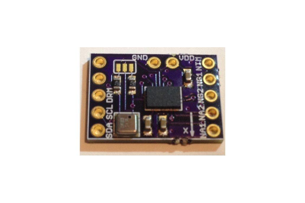 BMX-055 9-axis motion sensor add-on for Teensy 3.1 1