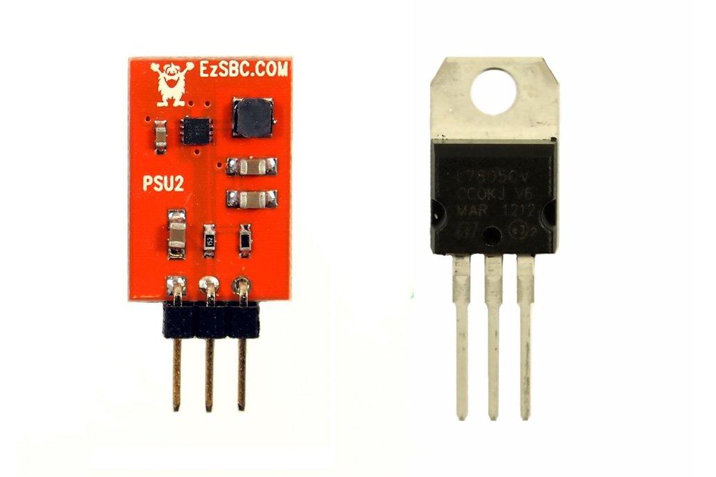 3.3V 1A Switch-Mode Voltage Regulator 1