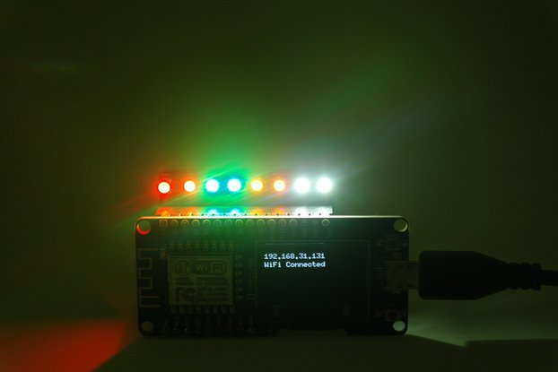 High light colorful LED shield(D-duino)