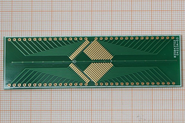 SMD Adapter TQFP64 0,8mm