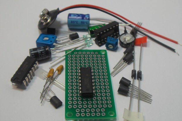 LM339 Quad Voltage Comparator IC Design Kit (#1405)