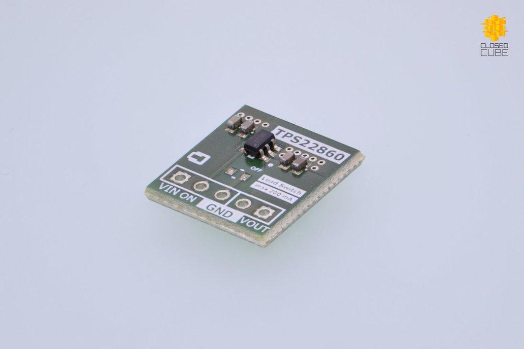 TPS22860 Ultra-Low Leakage Load Switch 1