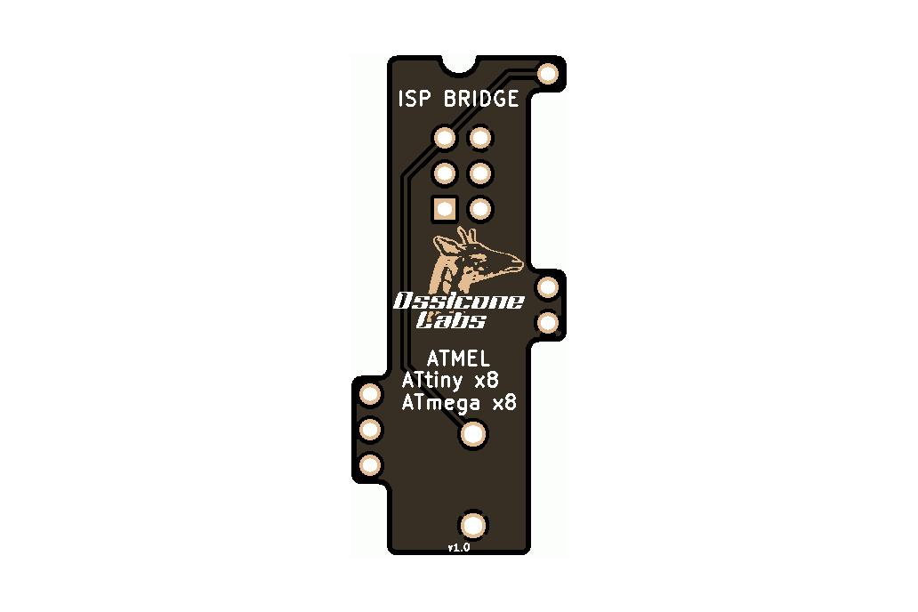 ISP Bridge 5(Atmel ATtiny x8, ATmega x8) 6