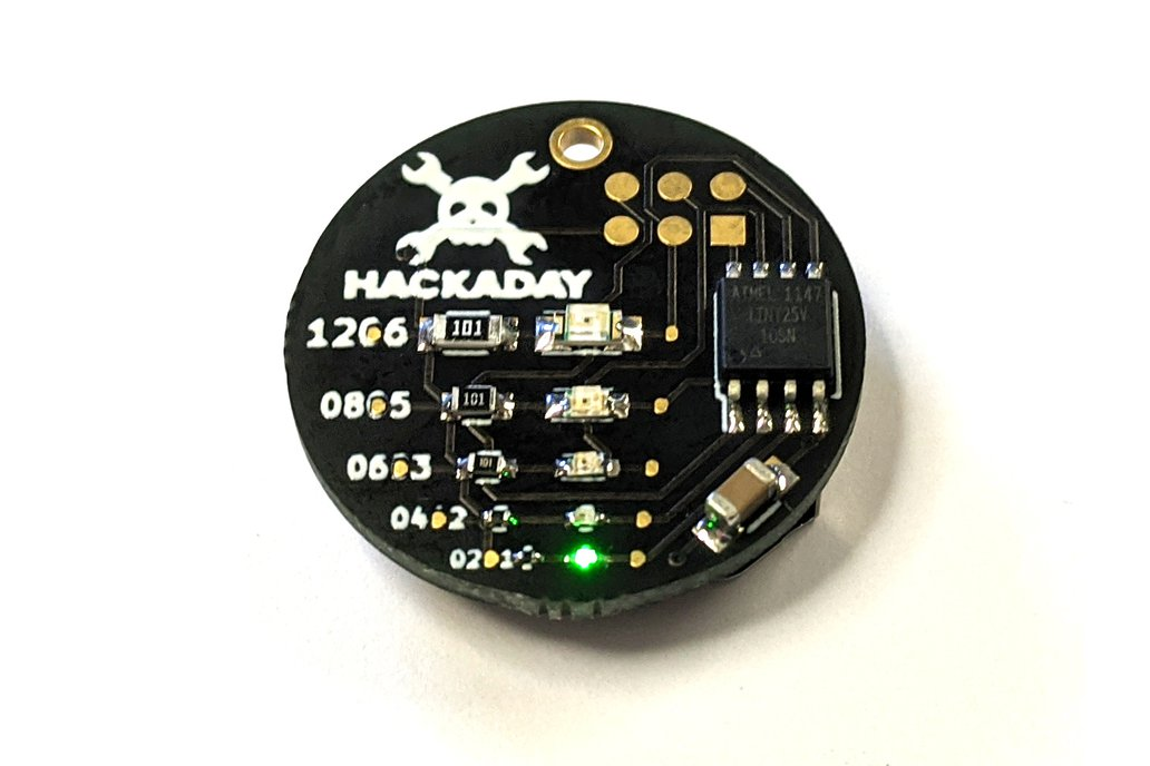SMD Challenge Hackaday Edition 1