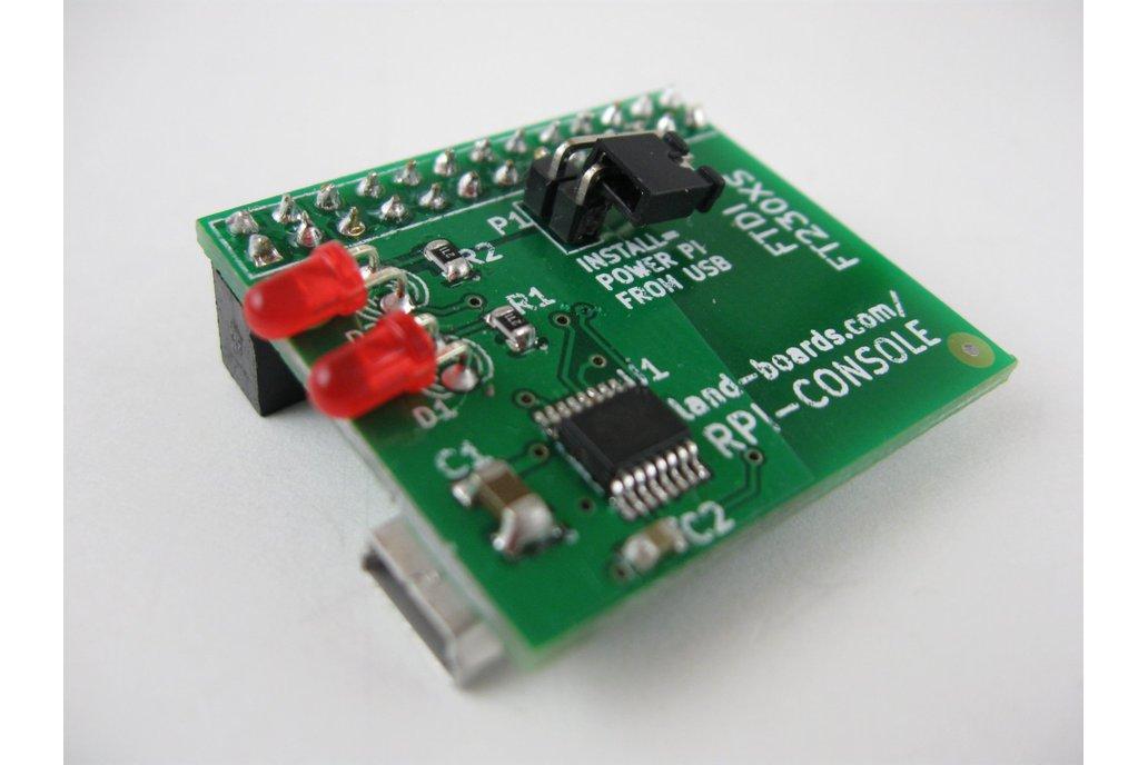 Raspberry Pi Console Card (RPI-CONSOLE) 1