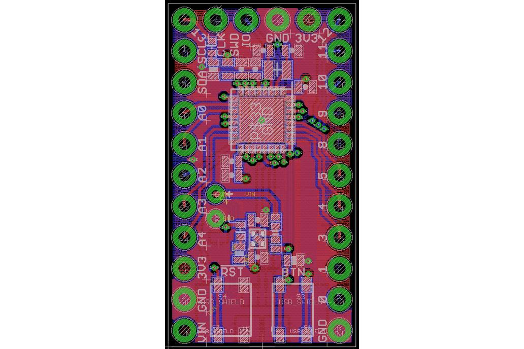 Ladybug STM32L432 Development Board 8