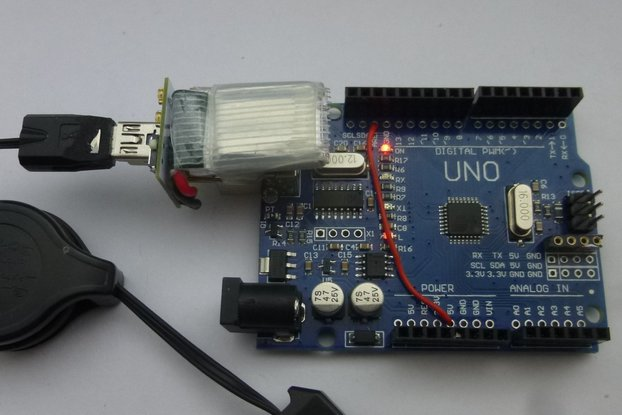 Lipo for Arduino Uno