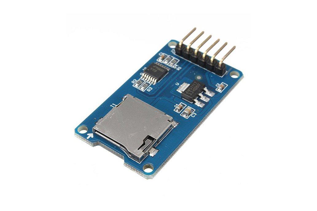 Micro SD card reader module for Arduino 2