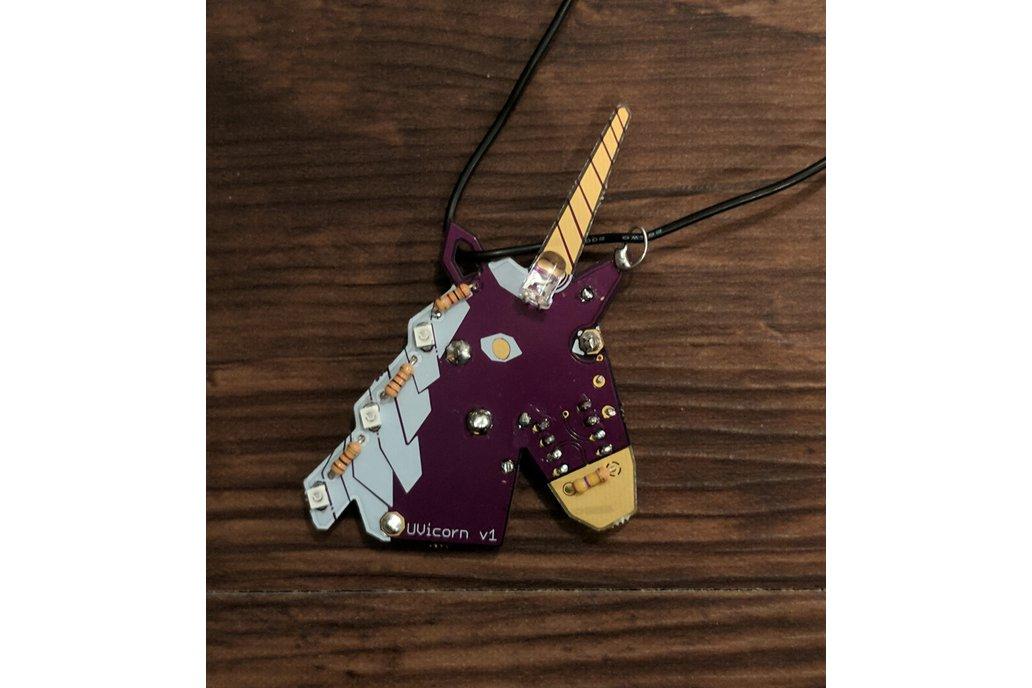 UVicorn Necklace - LED Unicorn 2